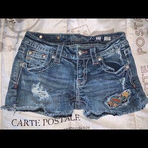 MissMe Patch Shorts